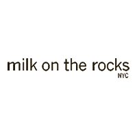 MILK ON THE ROCKS logo