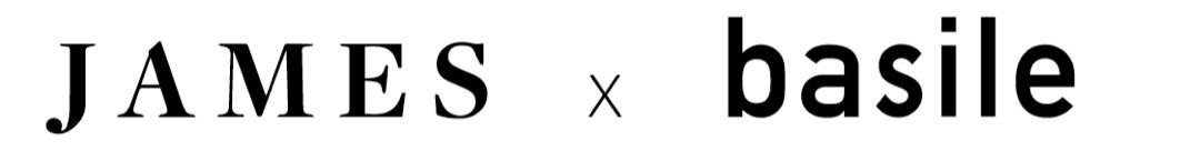 James x Basile logo