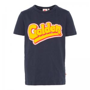 c-neck ss t-shirt golden logo