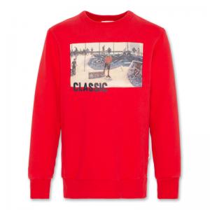 c-neck sweater classic logo