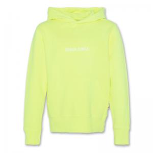 hoodie fluo logo