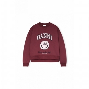 Dropped Shoulder Sweatshirt, S logo