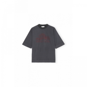 T-shirt, Rose Dark logo