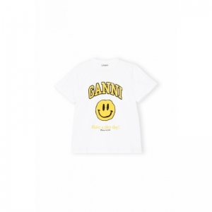 T-Shirt, Smiley Yellow logo