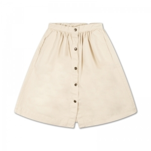 17. button down skirt logo