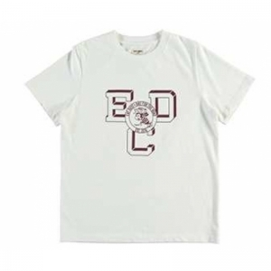 T- BEE VARSITY ORGANIC COTTON logo