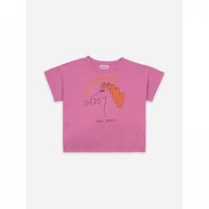 Fetching Horse Short Sleeve T- logo