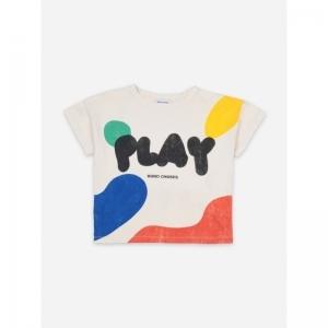 Play Landscape Short Sleeve T- logo