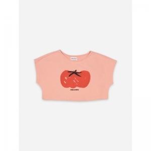 Tomato Cropped Sweatshirt logo