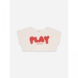 Play Cropped Sweatshirt logo