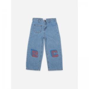 B C Squared Denim Pants logo