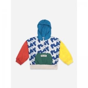 Play All Over Rain Jacket logo