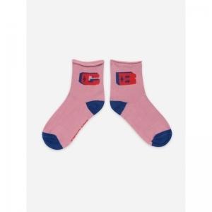 Pink BC Short Socks logo