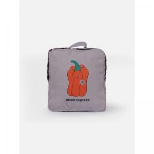 Vote For Pepper School Bag logo