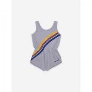 Crosswise Stripes Fleece Plays logo