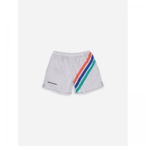 Crosswise Stripes Woven Shorts logo
