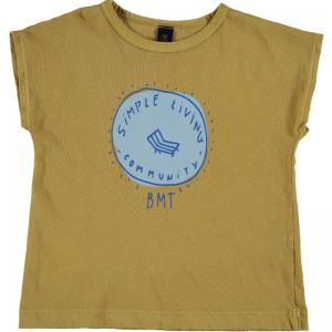 T-shirt simple living logo