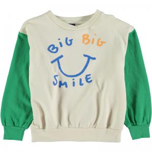 Sweatshirt big smile logo