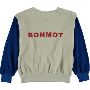 Sweatshirt terry Bonmot logo