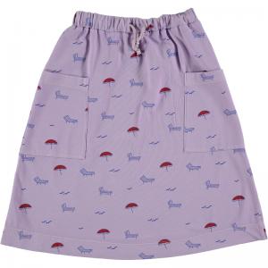 Skirt big pockets sun beds logo