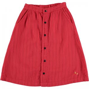 Long skirt stripes  logo