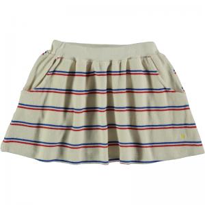 Skirt terry bistripe  logo
