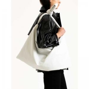 Bag Square Medium Oil 0000 WHITE