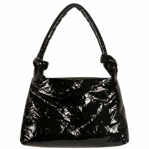 Bag Lady Leather Lacquer 0001 BLACK