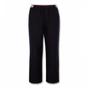 shirley stripe pants logo