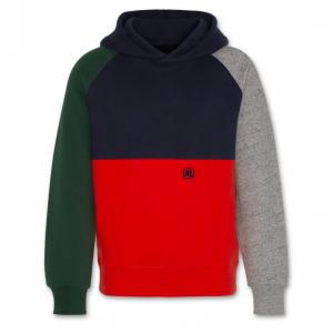 hoodie raglan sweater block logo