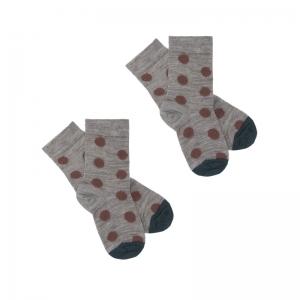 2 Pack Dot Socks logo